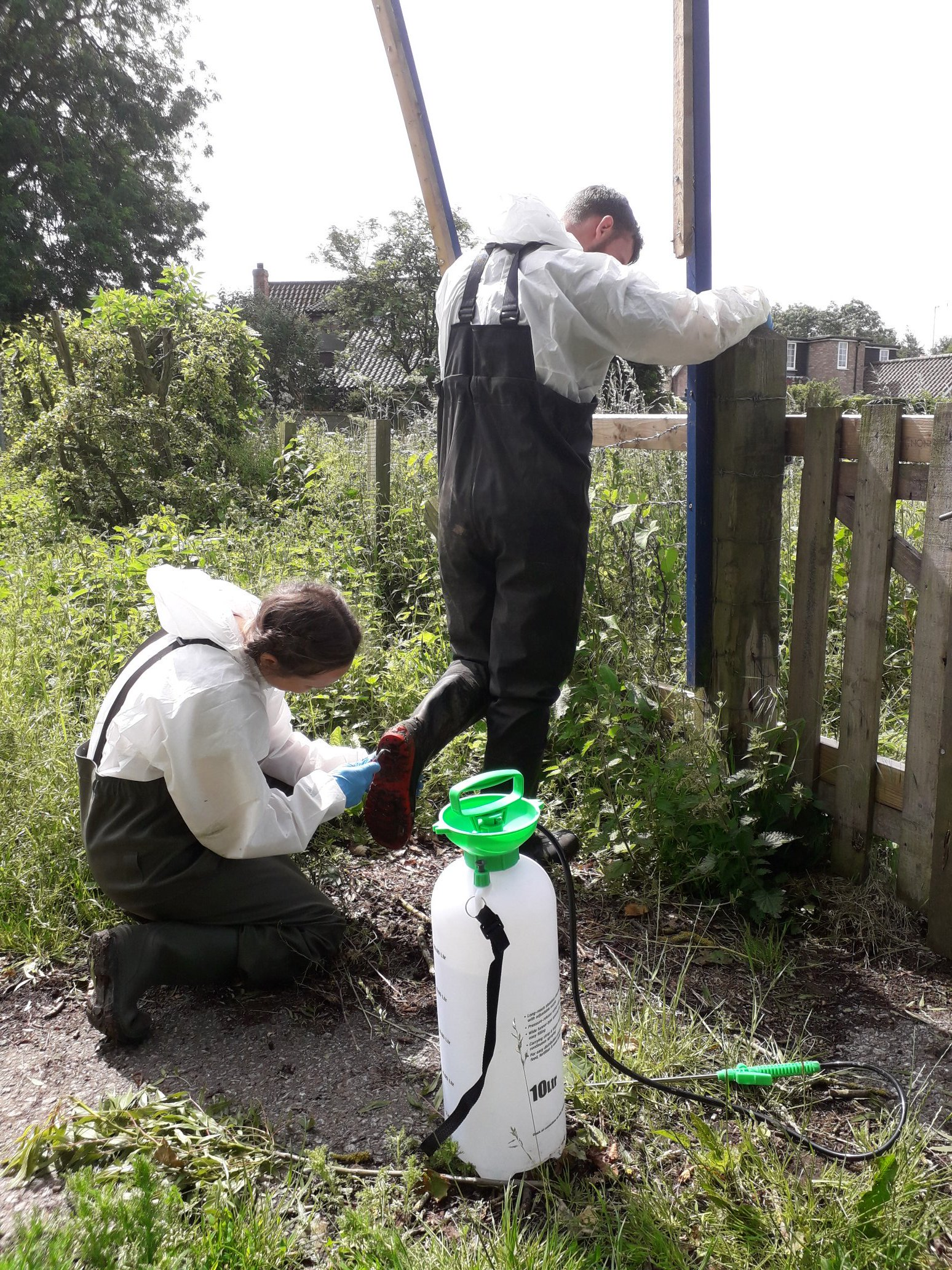 Biosecurity for fieldworkers